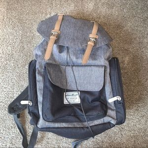 EDDIE BAUER. first adventures backpack.